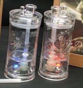 逸品彩灯两层冰壶.